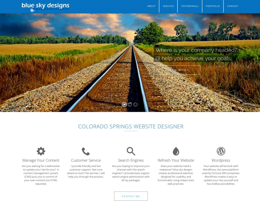 website designer colorado springs responsive design